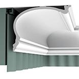 Gordijn Sierlijst Orac Decor Luxxus C343