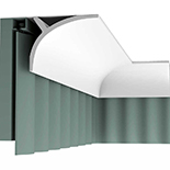 Gordijn Sierlijst Orac Decor Luxxus C991