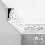 Kroonlijst flexibel Orac Luxxus C201F