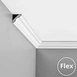 Kroonlijst flexibel Orac Luxxus C215F