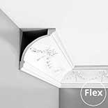 Kroonlijst flexibel Orac Luxxus C218F