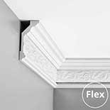 Kroonlijst flexibel Orac Luxxus C303F
