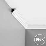 Kroonlijst flexibel CX110F Orac Decor Axxent
