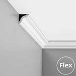 Kroonlijst flexibel CX124F Orac Decor Axxent