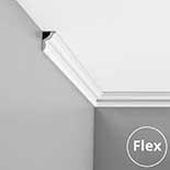 Kroonlijst flexibel CX148F Orac Decor Axxent