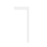 Orac Decor DX157-2300 Deurlijst | L 230 x H 6,6 x B 1,3 cm