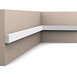 Orac Decor SX194 Wandlijst | Middenklasse | L 200 x H 2 x B 1 cm