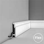 Flexibele Plint Orac Luxxus Sx155F