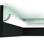 Profiel voor indirecte verlichting C362 Orac Decor Luxxus