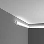 Profiel voor indirecte verlichting C380 Orac Decor Luxxus