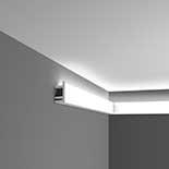 Profiel voor indirecte verlichting C381 Orac Decor Luxxus