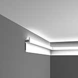 Profiel voor indirecte verlichting C382 Orac Decor Luxxus