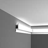 Profiel voor indirecte verlichting C383 Orac Decor Luxxus