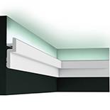 Profiel voor indirecte verlichting Orac Decor Modern C394