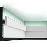 Profiel voor indirecte verlichting Orac Decor Modern C395