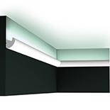 Profiel voor indirecte verlichting Orac Decor Modern CX188