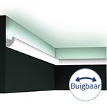 Profiel voor indirecte verlichting Orac Decor Modern CX188F Flexibel
