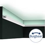 Profiel voor indirecte verlichting Orac Decor Modern CX190F Flexibel